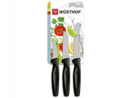 Wüsthof, 3-dílná sada nožů - černých